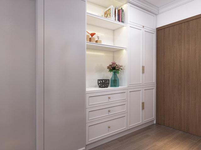 Mục sở thị căn hộ 30m2 mang phong cách tân cổ điển sang trọng - Ảnh 6.