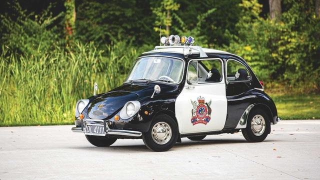 Đấu giá Subaru 360: Xe cảnh sát dễ thương nhất mọi thời đại - Ảnh 1.