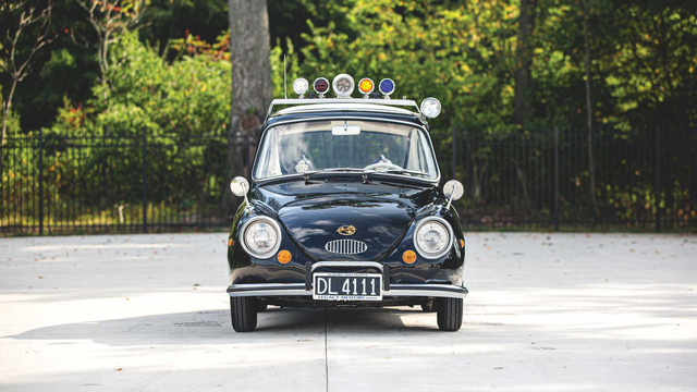 Đấu giá Subaru 360: Xe cảnh sát dễ thương nhất mọi thời đại - Ảnh 2.