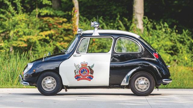 Đấu giá Subaru 360: Xe cảnh sát dễ thương nhất mọi thời đại - Ảnh 3.