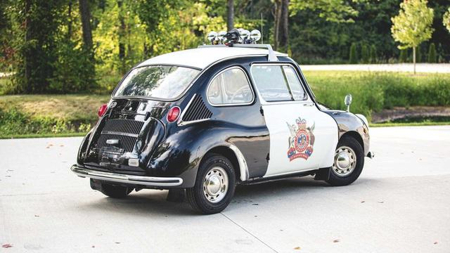 Đấu giá Subaru 360: Xe cảnh sát dễ thương nhất mọi thời đại - Ảnh 4.