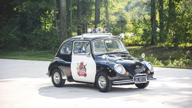Đấu giá Subaru 360: Xe cảnh sát dễ thương nhất mọi thời đại - Ảnh 5.