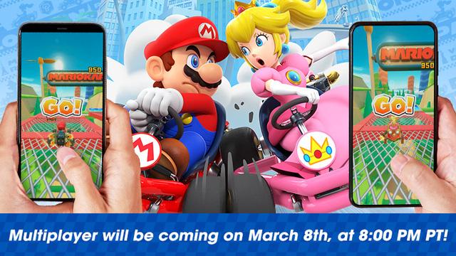 Mario Kart hỗ trợ chế độ nhiều người chơi theo thời gian thực trên iOS - ảnh 1