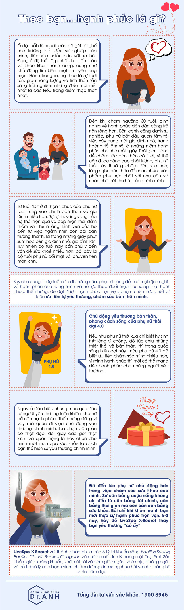 Chủ động yêu thương bản thân, phong cách sống của phụ nữ 4.0