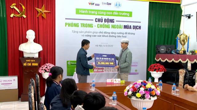 Chung tay chống dịch COVID-19, Bào tử lợi khuẩn Dr. ANH tặng quà tăng đề kháng cho làng trẻ em SOS Hà Nội - Ảnh 3.