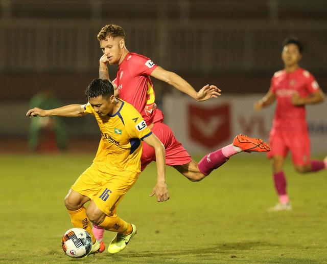 CLB Sài Gòn 0-0 Sông Lam Nghệ An: Những khoảnh khắc đáng nhớ (Vòng 1 LS V.League 2020) - Ảnh 10.