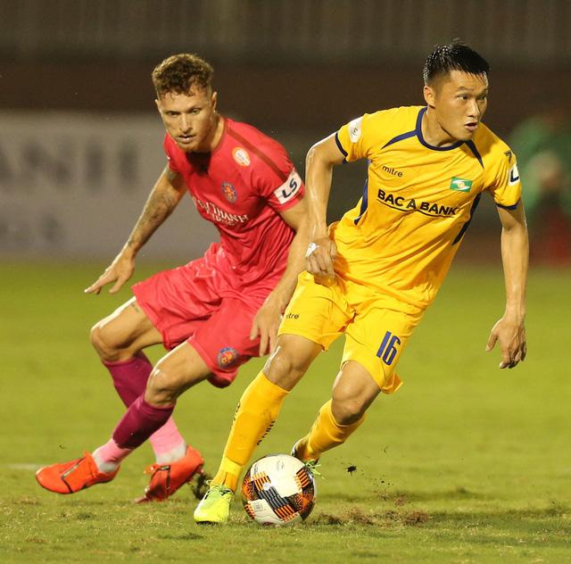 CLB Sài Gòn 0-0 Sông Lam Nghệ An: Những khoảnh khắc đáng nhớ (Vòng 1 LS V.League 2020) - Ảnh 9.