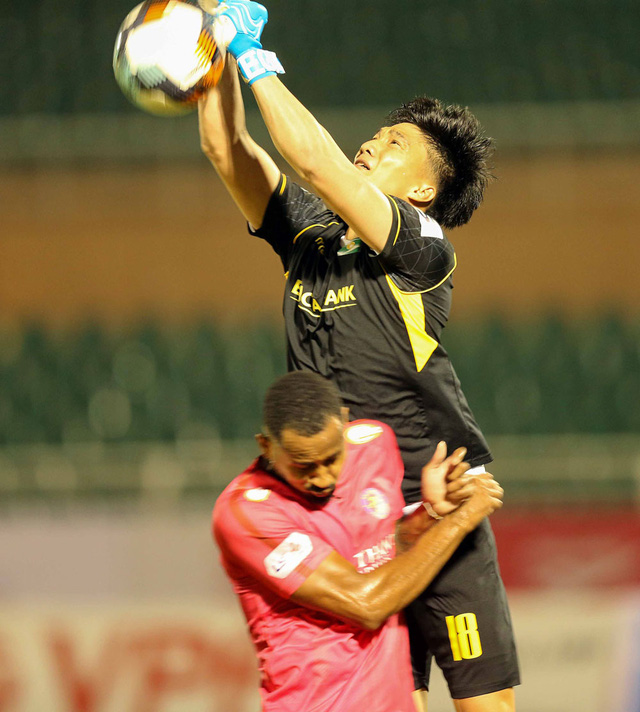 CLB Sài Gòn 0-0 Sông Lam Nghệ An: Những khoảnh khắc đáng nhớ (Vòng 1 LS V.League 2020) - Ảnh 8.