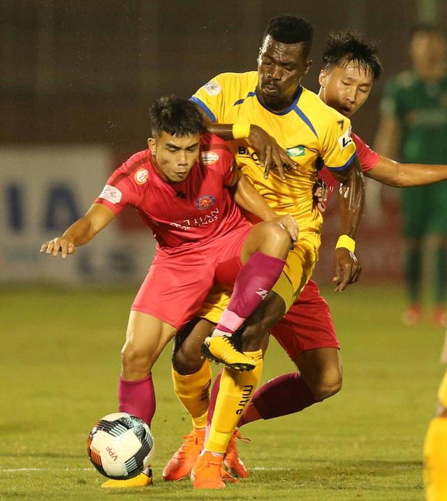 CLB Sài Gòn 0-0 Sông Lam Nghệ An: Những khoảnh khắc đáng nhớ (Vòng 1 LS V.League 2020) - Ảnh 7.