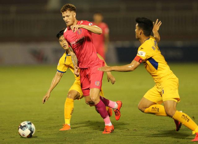 CLB Sài Gòn 0-0 Sông Lam Nghệ An: Những khoảnh khắc đáng nhớ (Vòng 1 LS V.League 2020) - Ảnh 5.