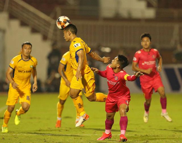 CLB Sài Gòn 0-0 Sông Lam Nghệ An: Những khoảnh khắc đáng nhớ (Vòng 1 LS V.League 2020) - Ảnh 4.