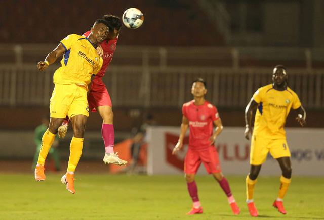 CLB Sài Gòn 0-0 Sông Lam Nghệ An: Những khoảnh khắc đáng nhớ (Vòng 1 LS V.League 2020) - Ảnh 3.