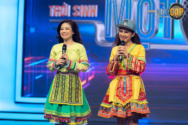 Loạt đồ đôi tuyệt đẹp của Thu Hoài - Dương Hoàng Yến trong Trời sinh một cặp - Ảnh 14.