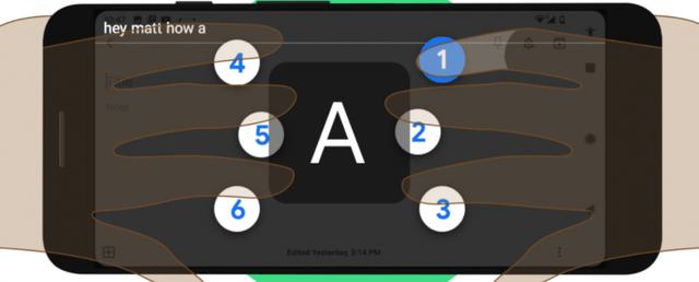 Google ra mắt bàn phím ảo cho người dùng khiếm thị - Ảnh 1.