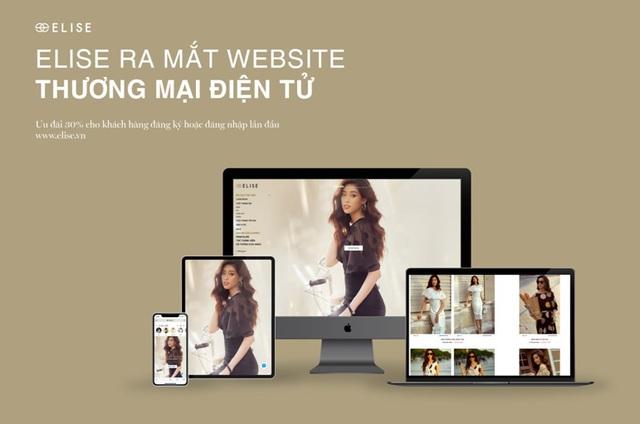 Thời trang Elise chính thức ra mắt Website thương mại điện tử trong mùa dịch - Ảnh 1.