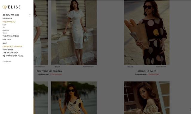 Thời trang Elise chính thức ra mắt Website thương mại điện tử trong mùa dịch - Ảnh 2.