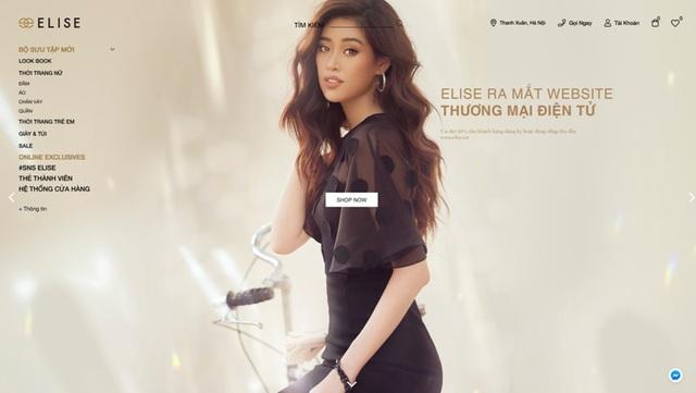 Thời trang Elise chính thức ra mắt Website thương mại điện tử trong mùa dịch - Ảnh 3.