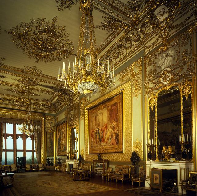 Choáng ngợp trước những căn phòng lộng lẫy trong Cung điện Hoàng gia Anh - Ảnh 6.