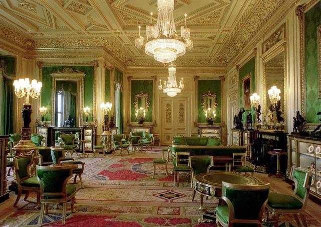 Choáng ngợp trước những căn phòng lộng lẫy trong Cung điện Hoàng gia Anh - Ảnh 5.