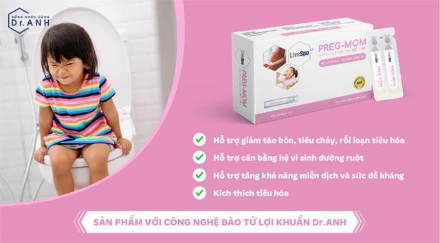 Hết lo táo bón, tiêu hóa khỏe mạnh, tăng sức đề kháng bằng LiveSpo PregMom - Ảnh 3.