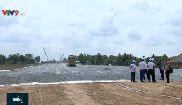 Cao tốc Trung Lương - Mỹ Thuận đạt tiến độ 40% - Ảnh 1.