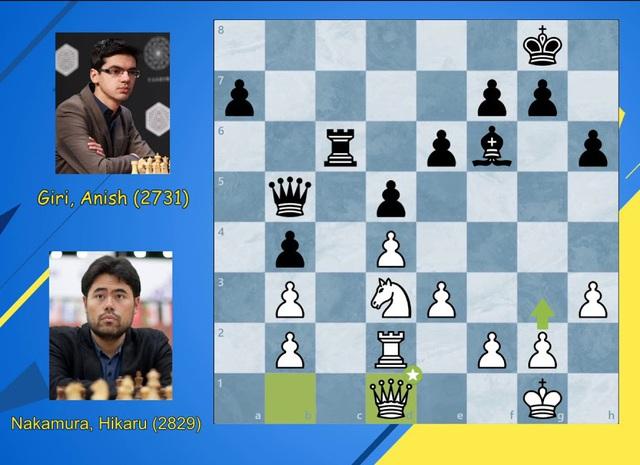 Hikaru Nakamura gây bất ngờ tại giải cờ vua Magnus Carlsen Invitational - Ảnh 1.