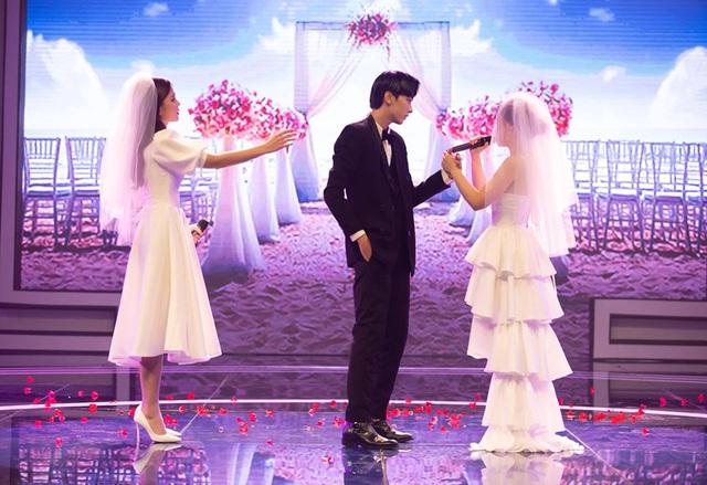 Loạt đồ đôi tuyệt đẹp của Thu Hoài - Dương Hoàng Yến trong Trời sinh một cặp - Ảnh 3.