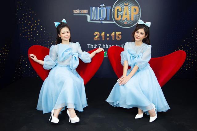 Loạt đồ đôi tuyệt đẹp của Thu Hoài - Dương Hoàng Yến trong Trời sinh một cặp - Ảnh 9.