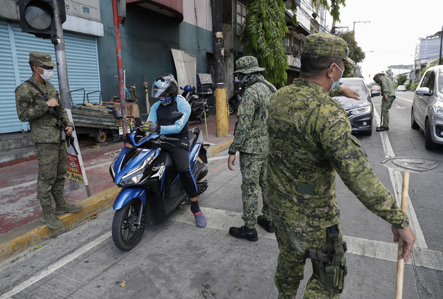 Philippines gia hạn phong tỏa thủ đô Manila chống COVID-19 đến giữa tháng 5 - Ảnh 1.