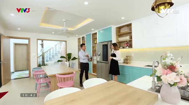 Căn nhà phố đẹp như mơ của nữ gia chủ yêu sắc màu - Ảnh 3.