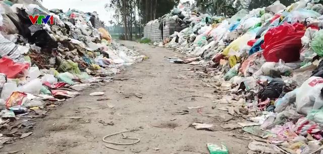 Khu dân cư khốn khổ vì chung sống với bãi rác tự phát suốt 10 năm - Ảnh 1.