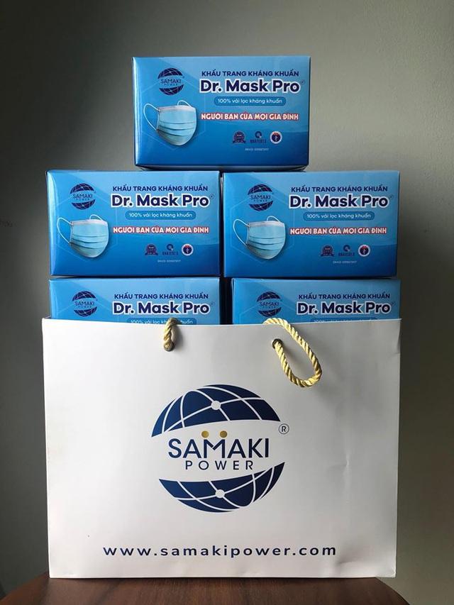 Công ty Cổ phần Samaki Power trao tặng 18.000 khẩu trang tới quận Hoàng Mai, Hà Nội - Ảnh 5.