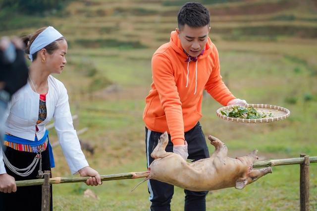 Ẩm thực kỳ thú: Duy Nam lần đầu bắt lợn, Mạc Văn Khoa lên núi hái măng - Ảnh 5.