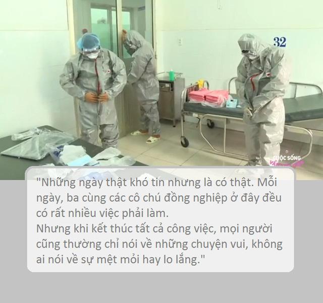 Tâm thư gửi con gái của Bác sĩ BV Nhiệt đới TƯ 1 tháng không về nhà vì dịch COVID-19 - Ảnh 2.