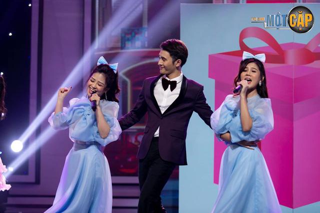 Tiến Lộc, MC Thu Hoài cân sức, cân tài giành điểm cao nhất tập 9 Trời sinh một cặp - Ảnh 3.