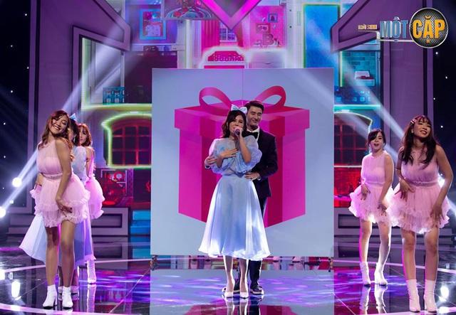 Tiến Lộc, MC Thu Hoài cân sức, cân tài giành điểm cao nhất tập 9 Trời sinh một cặp - Ảnh 4.