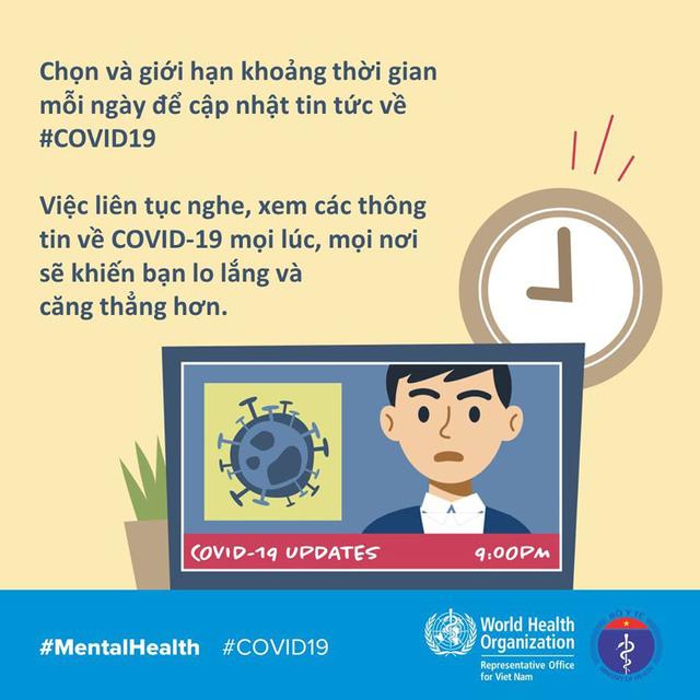 Cách vượt qua căng thẳng, lo lắng khi ở nhà trong COVID-19 - Ảnh 2.
