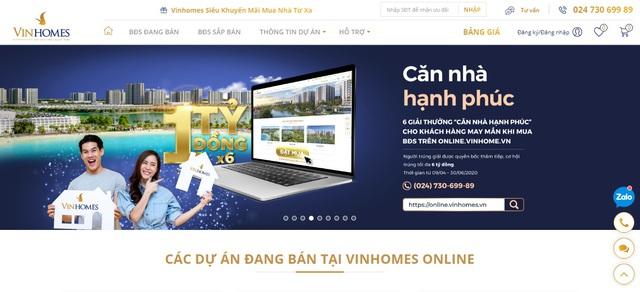 Ra mắt sàn giao dịch bất động sản trực tuyến Vinhomes Online - ảnh 1