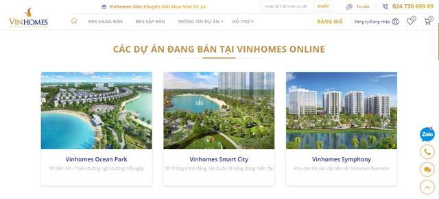 Ra mắt sàn giao dịch bất động sản trực tuyến Vinhomes Online - ảnh 2