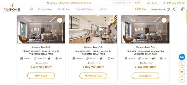 Ra mắt sàn giao dịch bất động sản trực tuyến Vinhomes Online - ảnh 3