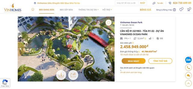 Ra mắt sàn giao dịch bất động sản trực tuyến Vinhomes Online - ảnh 4