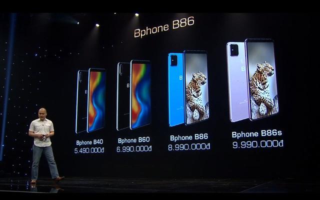 Bphone B86 - Smartphone không phím bấm, không cằm và biết lặn - Ảnh 3.