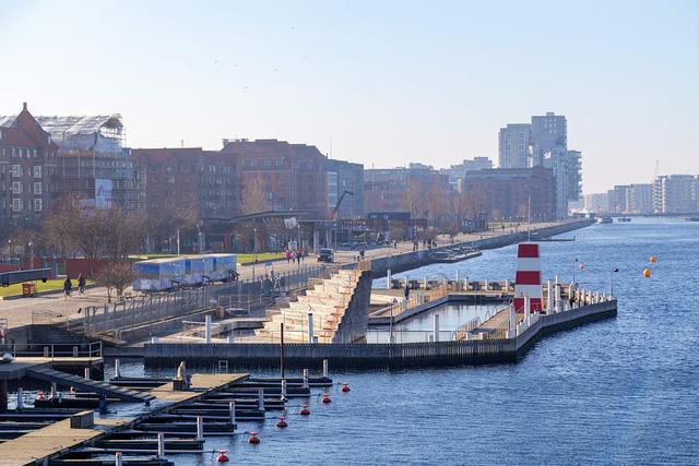 """Độc đáo, hệ thống """"công viên nổi"""" ấn tượng vừa được ra mắt tại Copenhagen (Đan Mạch) - ảnh 3"""
