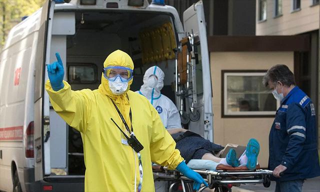 Số ca nhiễm tăng đều, Nga điều chỉnh các biện pháp chống COVID-19 - Ảnh 1.