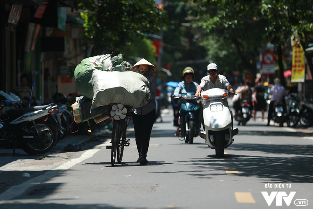 Đường phố Hà Nội nhuộm màu nắng vàng - Ảnh 5.