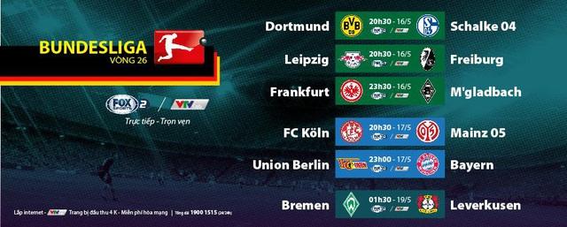 Bundesliga – giải VĐQG Đức trở lại trọn vẹn trên VTVcab: Hấp dẫn derby vùng Ruhr Dortmund vs Schalke 04 - Ảnh 1.