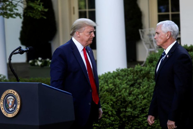 Ai sẽ chèo lái nước Mỹ nếu Tổng thống Trump dính COVID-19? - Ảnh 4.
