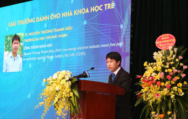 Giải thưởng Tạ Quang Bửu 2020: Vinh danh các nhà khoa học tài năng và những tấm gương chống dịch COVID-19 - Ảnh 4.