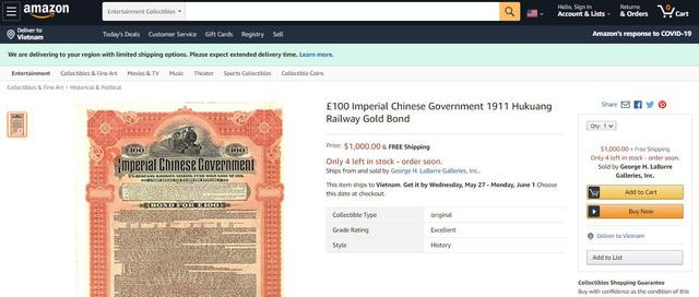 """Trái phiếu cổ Trung Quốc: """"Vũ khí bí mật"""" trong cuộc chiến thương mại Mỹ -Trung? - Ảnh 1."""