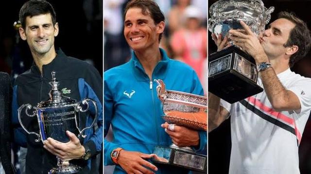 Djokovic tiết lộ những tuyệt kĩ học được từ Nadal và Federer - Ảnh 1.